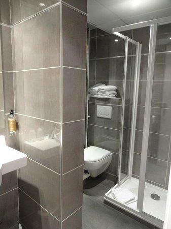 Hôtel du Prince Eugene: Bathroom
