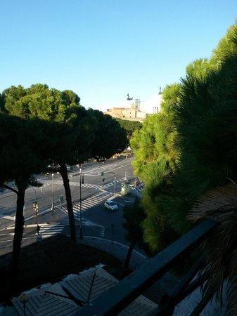 Richmond Hotel: vista terrazza colazioni