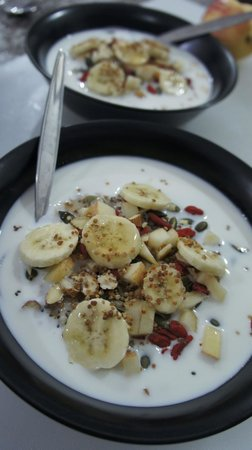 Fitness Cafe: Superfood oatmeal