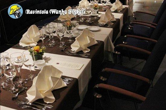 Ravintola Wanha Fiskari: Kattauksen herkkyyttä