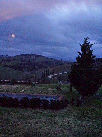Agriturismo Casa Frati: Vista dal salone