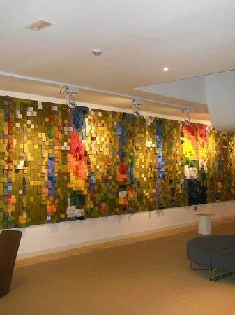 Barcelo Bilbao Nervion : L'elegante hall adiacente la sala convegni