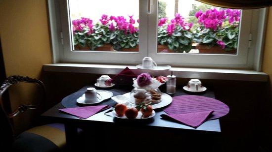 Casa Pariolina: El desayuno