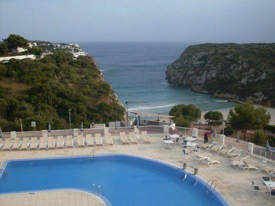 Hotel Playa Azul : vista dalla stanza