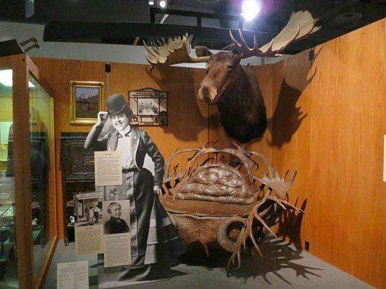 University of Alaska Museum of the North : 最大の角をもつヘラジカ