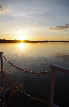 Royal Chundu Luxury Zambezi Lodges: Sunset at Royal Chundu