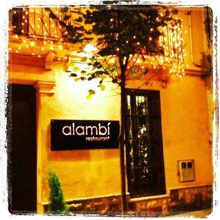Alambi Restaurant: Façana alambí