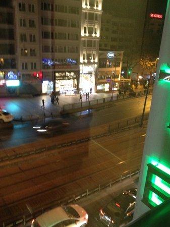 Sorriso Hotel : vista su ordu caddesi