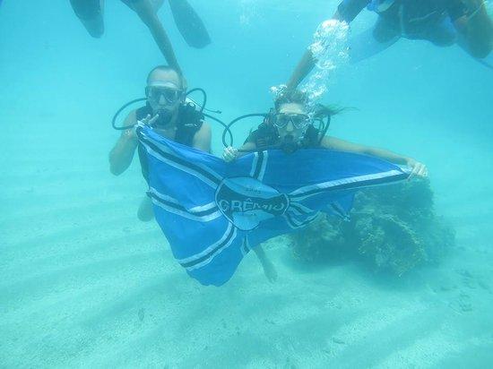 Gales de Maragogi : mergulho com  cilindro