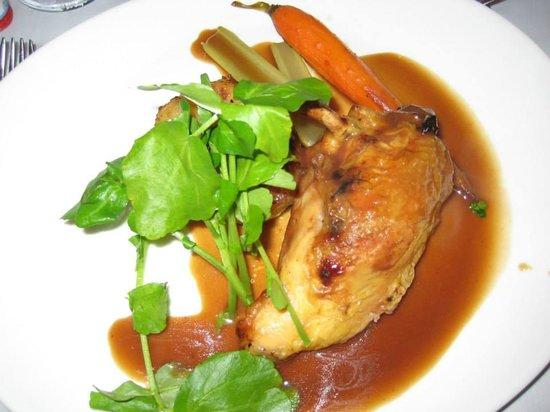 Ashbourne Hotel: food
