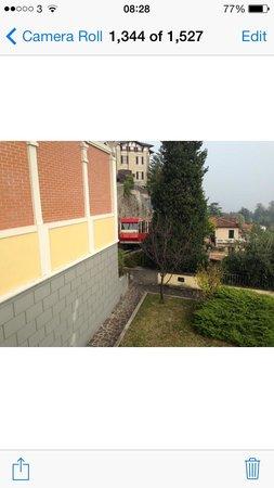 Funicolare San Vigilio : The funicular