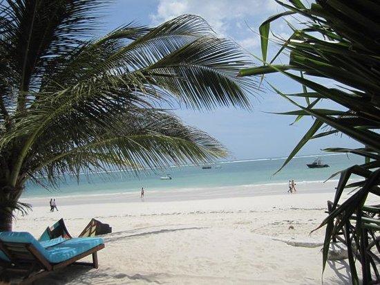 Waterlovers Beach Resort: la plage publique devant l'hôtel