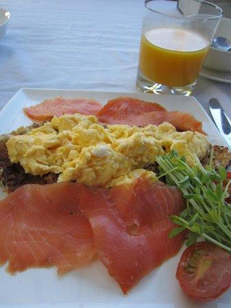 Trigg Retreat Bed & Breakfast: Gourmet breakfast