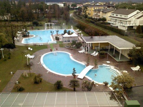 Hotel Harrys' Garden: vista piscina giorno