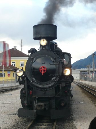Jenbach, Austria: Getting Up Steam
