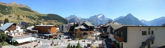 Residence Le Cortina : Vue du balcon