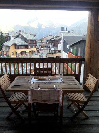 Residence Le Cortina : Le balcon