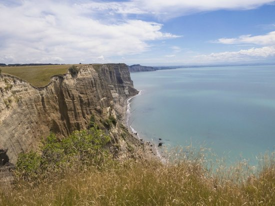 Cape Kidnappers: View of the coast