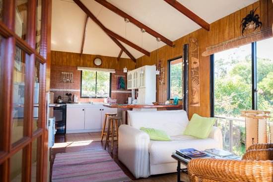 Cabanas Mana Ora: Interior of smaller cottage