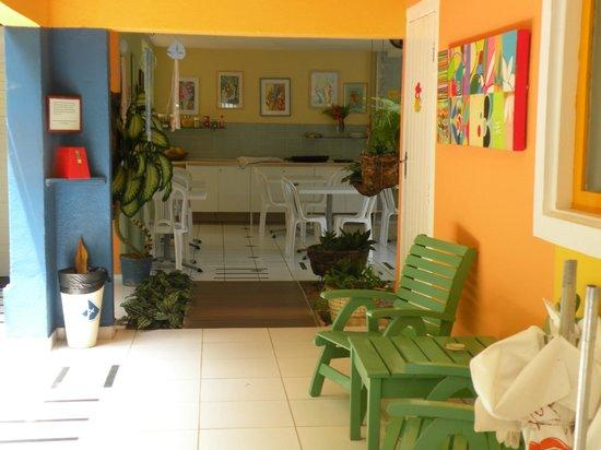 Pousada Portomares: àrea do café