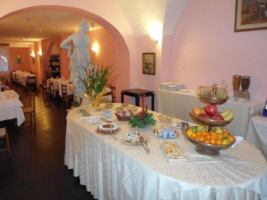 Varazze, Italy: Morgenbuffet