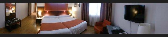 Almudaina Hotel: Panorámica habitación