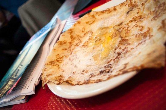 Creperie Beaubourg : crepe menu mezzogiorno