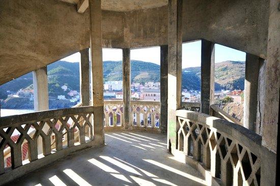 l 39 escalier picture of le belvedere du rayon vert. Black Bedroom Furniture Sets. Home Design Ideas