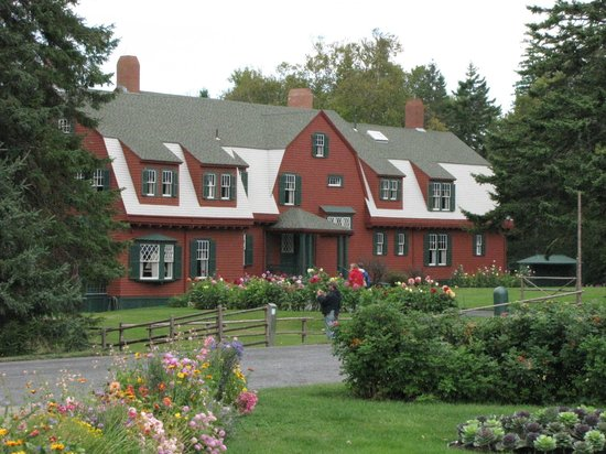 Roosevelt Campobello International Park: Front of home