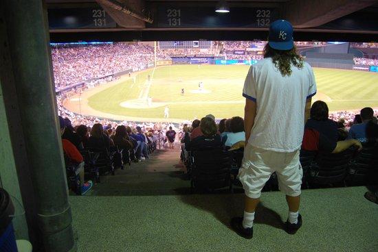 Kauffman Stadium : The Royals at home!