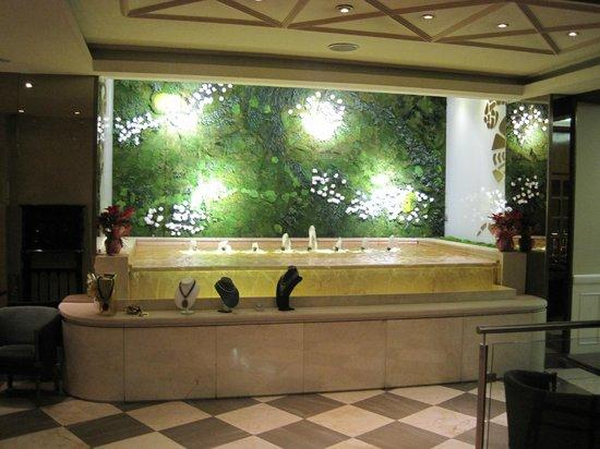 Hotel Mayorazgo: Am Weg zum Resteraunt