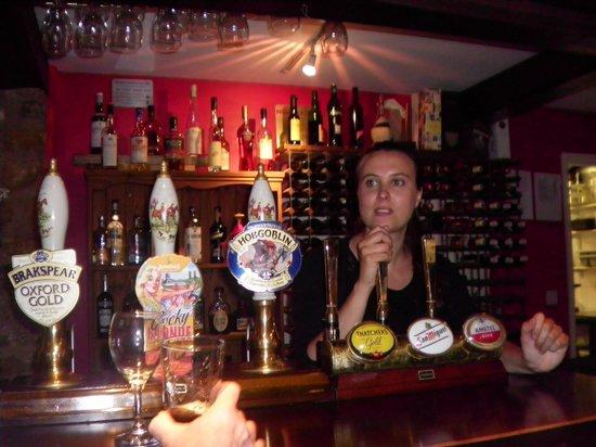 The Perch inn: cervezas!!! en The Perch
