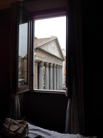 Albergo del Senato: Another view from our room ( Room 205 )