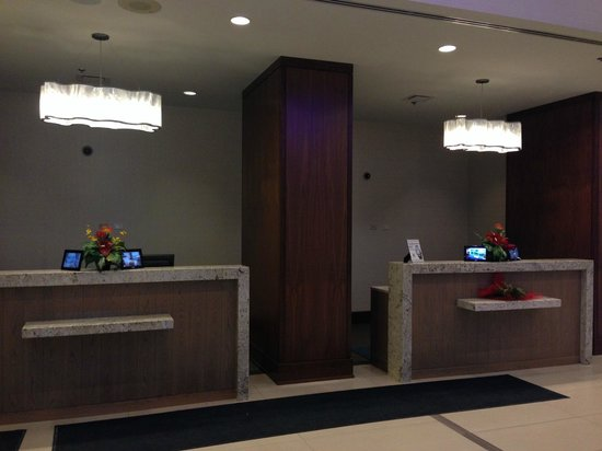 Niagara Falls Marriott on the Falls : Reception area