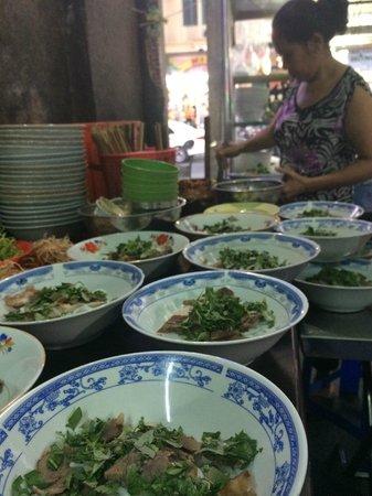XO Tours: beef noodle bon hue, not Pho