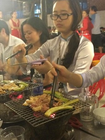 XO Tours: tour guides grilling mutton and ladys finger