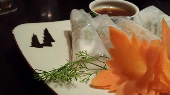 Highway4 Hang Tre: Catfish spring rolls - must try!