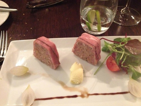 Blue Wagon: Terrine
