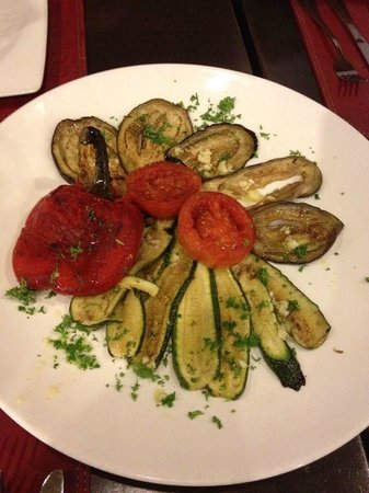 Capannina by Limoncello: Grill Vegetables