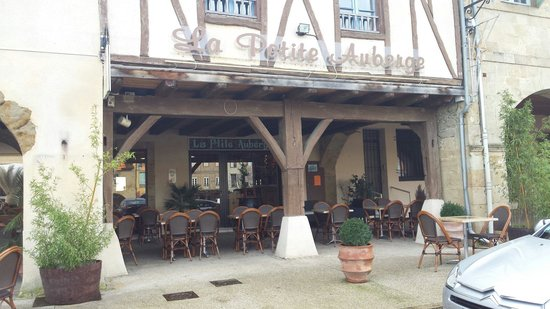 Marciac, Francja: The menu du jour is well 'superb'