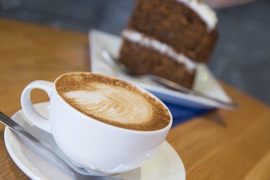 Treeby & Bolton Cafe: Square Mile Coffee & Homemade Carrot Cake