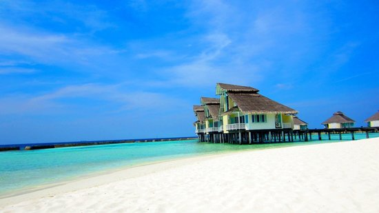 Ellaidhoo Maldives by Cinnamon: water bungalows from the beach