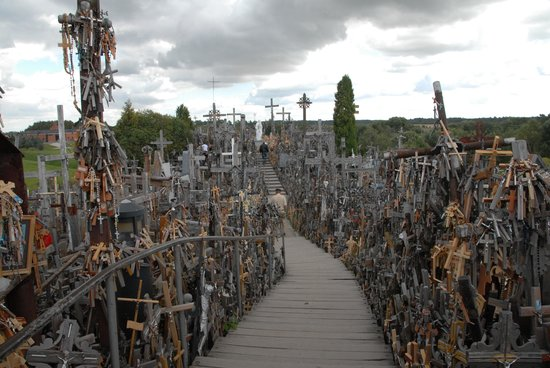 Siauliai Hill of Crosses: Many hills and pathways