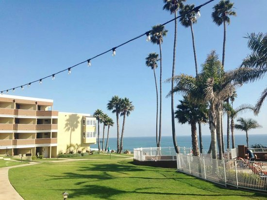 SeaCrest OceanFront Hotel : The view from the hotel grounds