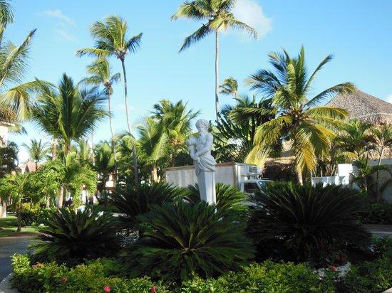Grand Bahia Principe Punta Cana: Jardins de l'hôtel