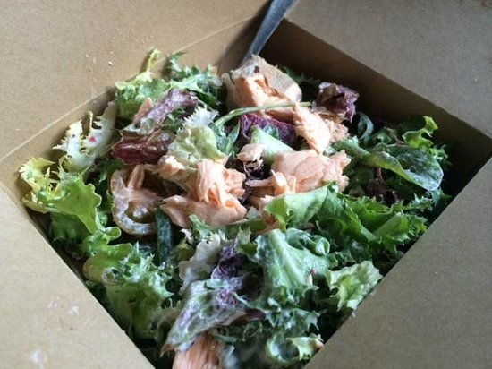 My Poached Salmon salad yumm :) - Picture of Taylors Deli, Oxford ...