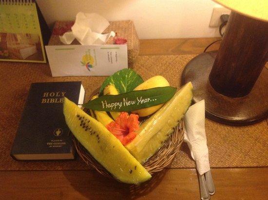 Best Western Boracay Tropics Resort: Подарок от отеля на Новый Год