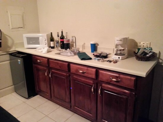 Forrest Hills Mountain Resort and Conference Center: Mini-Fridge, sink, microwave, coffee pot