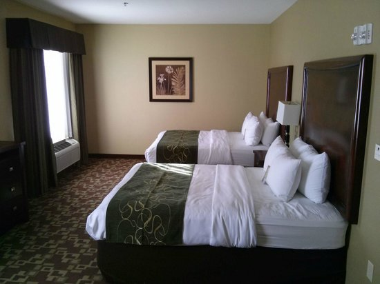Comfort Suites Near Northeast Mall: this is just part of the room its huge