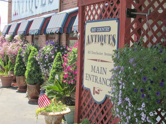 Hyatt Regency Chesapeake Bay Golf Resort, Spa & Marina : THE ANTIQUES STORE DOWN THE ROAD